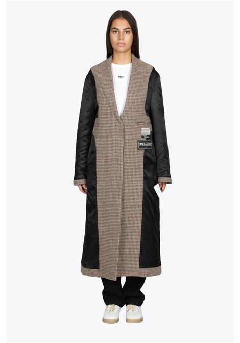 INSIDE-OUT CHECKED WOOL COAT MM6 MAISON MARGIELA | 17 | S62AA0042 S54207001F