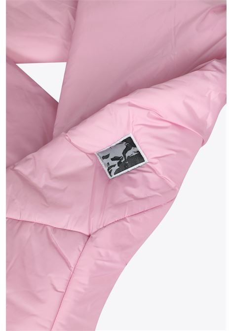 SCIARPA IN NYLON ROSA CON IMBOTTITURA RICK OWENS-DRKSHDW | 77 | DU02A3455 ND PUFFER SCARF83