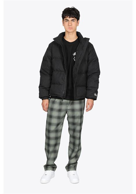 SOLID PUFFER JACKET STUSSY | 3 | 115544 SOLID PUFFER JACKETBLACK