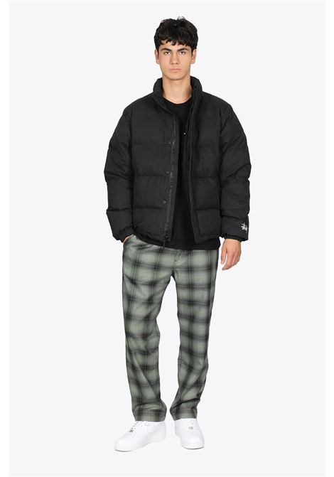 SHADOW PLAID RELAXED PANT STUSSY | 30000029 | 116508 SHADOW PLAID RELAXED PANTOLIVE