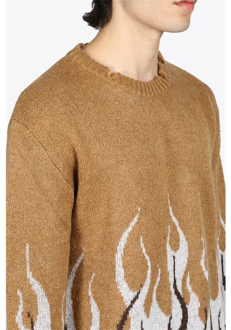 VISION OF SUPER | -1384759495 | VOS/B8DOUBLEBEIGE MOHAIR02
