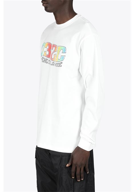 SYSTEME LONGSLEEVE 032C | 8 | SS21-C-1030 SYSTEME LONGSLEEVEWHITE