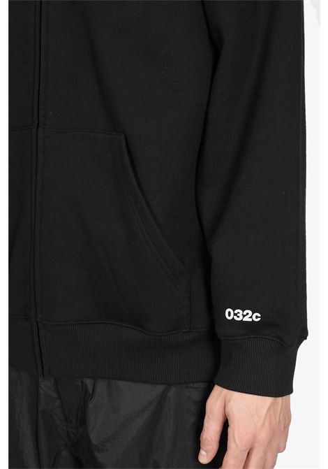 SYSTEME REFLECTIVE ZIP UP HOODIE 032C | -108764232 | SS21-C-2020 SYSTEME REFLECTIVE ZIP UP HOBLACK