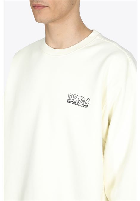 GLOW IN THE DARK CREWNECK 032C | -108764232 | SS21-C-2080 GLOW IN THE DARK CREWNECKNATURAL WHITE