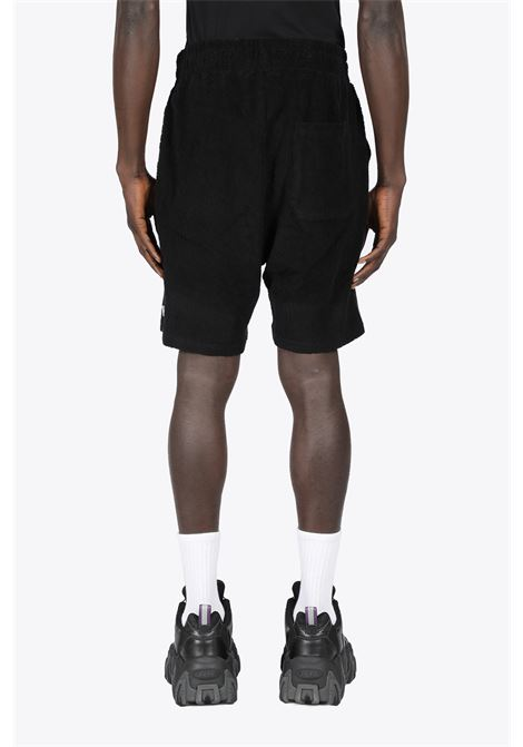 TOPOS SHAVED TERRY SHORTS 032C | 30 | SS21-C-3010 TOPOS SHAVED TERRY SHORTSBLACK