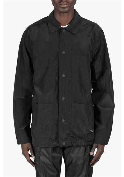 NYLON WORKER JACKET 032C | 3 | SS21-W-4010 NYLON WORKER JACKETBLACK