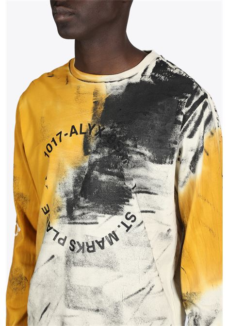 ADDRESS LOGO DYED L/S TEE 1017 ALYX 9SM | 8 | AAMTS0202FA01 ADDRESS LOGO DYED L/S TEETAB/ORANGE