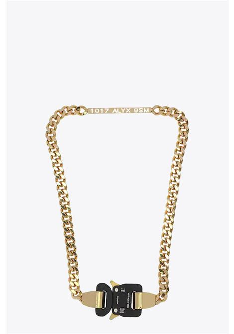 BUCKLE NECKLACE 1017 ALYX 9SM | 35 | AAUJW0032OT01 BUCKLE NECKLACEGOLD
