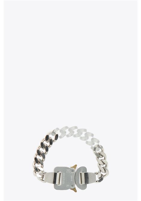 METAL AND NYLON CHAIN BRACELET 1017 ALYX 9SM | 36 | AAUJW0060OT02 METAL AND NYLON CHAIN BRACSILVER/TRANSPARENT