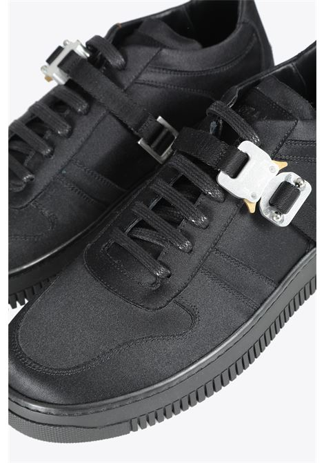satin buckle low trainer 1017 ALYX 9SM | 10000039 | AAUSN0023FA01 SATIN BUCKLE LOW TRAINERBLACK