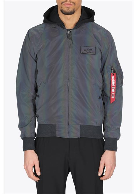 ALPHA INDUSTRIES | -276790253 | 116107RR MA-1 LW HD RAINBOW REFLECTIVE572