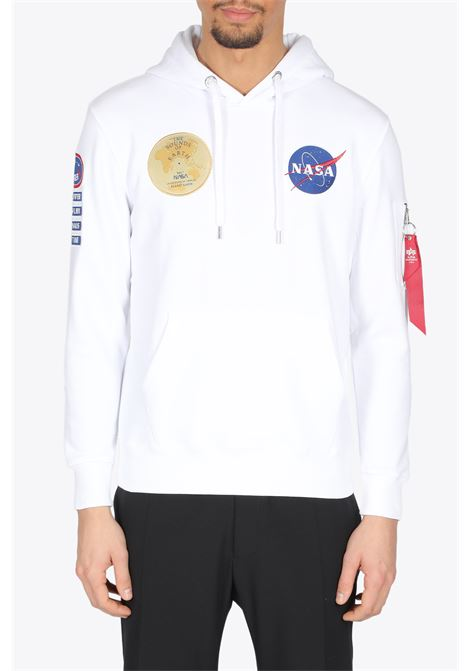 NASA VOYAGER HOODY ALPHA INDUSTRIES | -108764232 | 116330A NASA VOYAGER HOODY09
