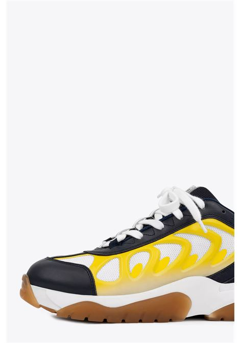 catfish lo-frec AXEL ARIGATO | 10000039 | 29073 CATFISH LO-FRECNAVY/YELLOW