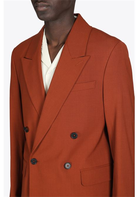 SHARP DOUBL BREASTED BLAZER CMMN SWDN | 3 | M18W316 SHARP DB BLAZERRUST