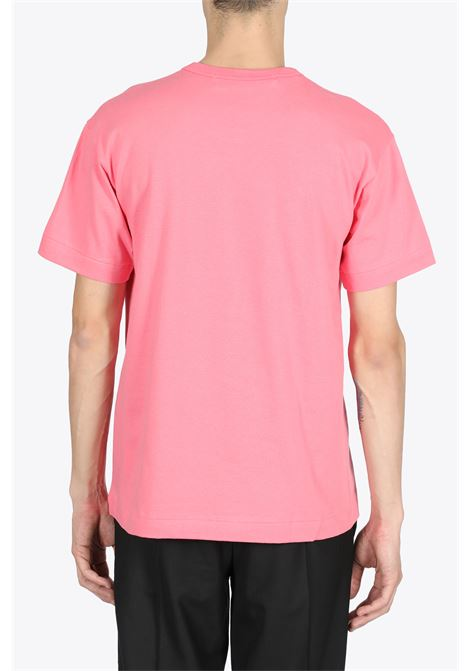 RED HEART PATCH TEE COMME DES GARCONS PLAY | 8 | P1T272PINK