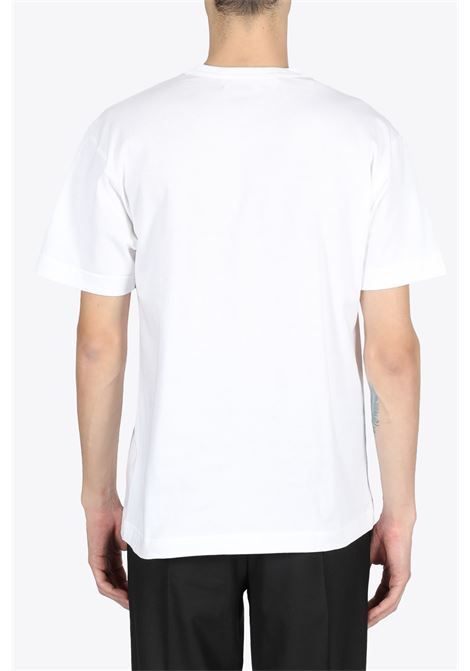 RED HEART PATCH TEE COMME DES GARCONS PLAY | 8 | P1T288WHITE