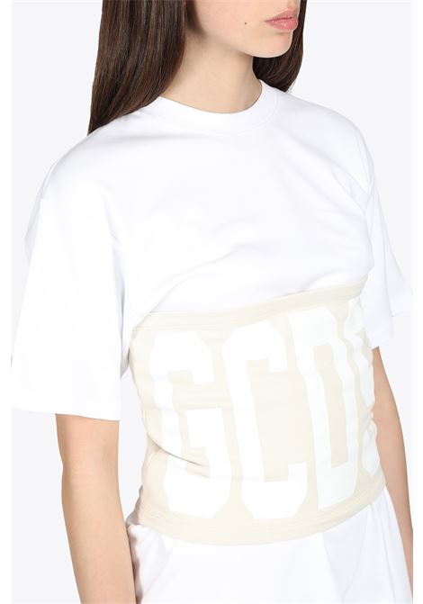 DUO BAND TEE GCDS | 8 | CC94W020602 DUO BAND TEE57