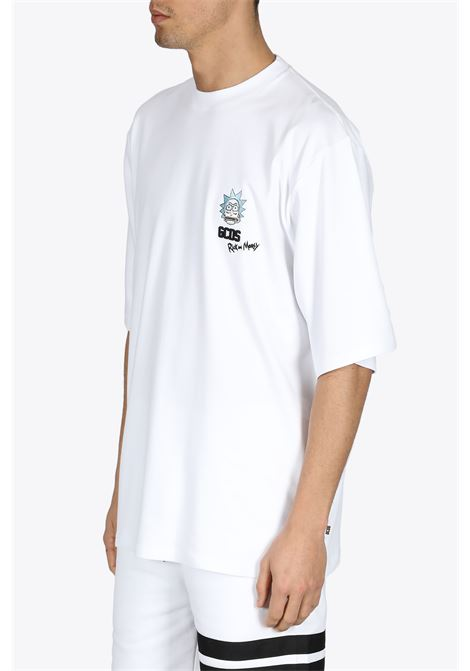 RICK AND MORTY OVERSIZED TEE GCDS | 8 | RM21M020059 OVERSIZE TEE01