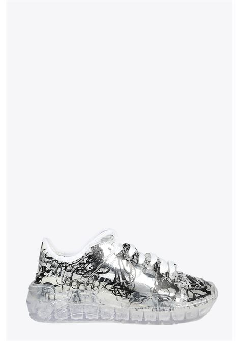 TRANSPARENT PRINTED SKATE SNEAKERS GCDS | 10000039 | SS21M010004 TRANSPARENT PRINTED SKATE SNTR