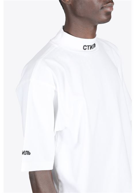 SS TURTLENECK CTNMB HERON PRESTON | 8 | HMAA021R21JER001 SS TURTLENECK CTNMB0110