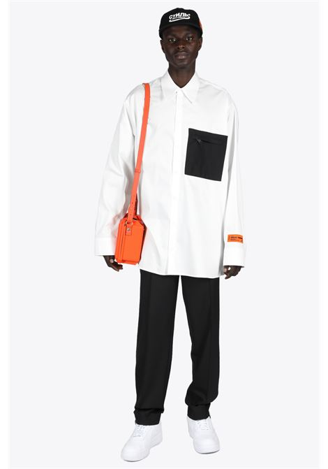 NYLON POCKET SHIRT HERON PRESTON | 6 | HMGA029S21FAB001 NYLON POCKET SHIRT0100