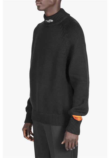 KNIT TURTLENECK CTNMB HERON PRESTON | -1384759495 | HMHF001S21KNI001 KNIT TURTLENECK CTNMB1001
