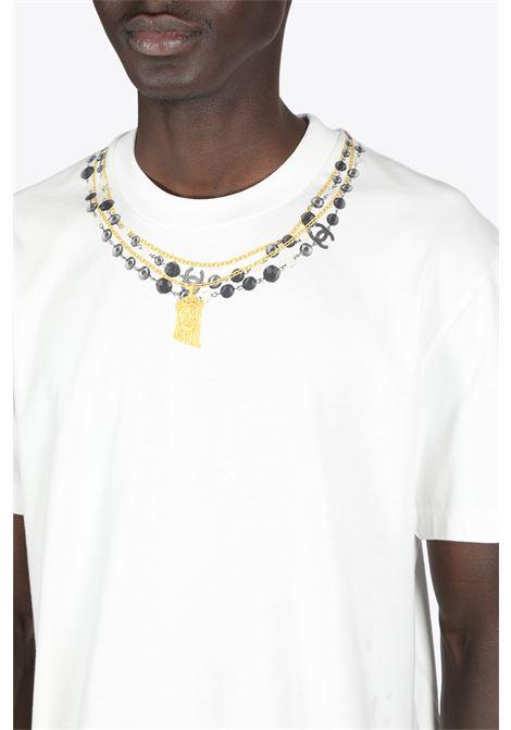 NECKLACE PRINT TEE IH NOM UH NIT | 8 | NCS21251 NECKLACE PRINT081