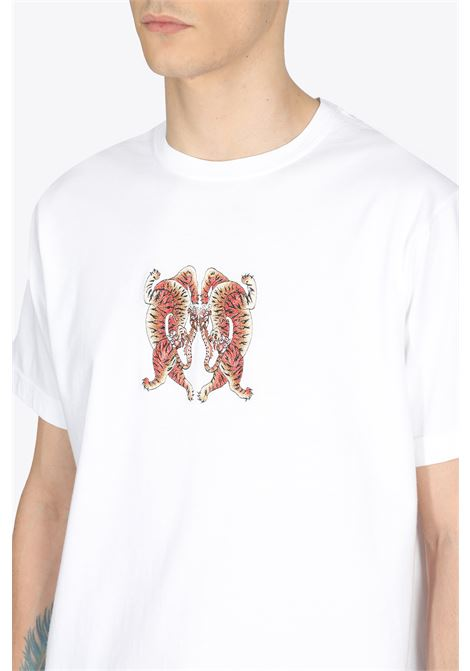 HEART OF TIGERS T-SHIRT MAHARISHI | 8 | 2063 HEART OF TIGERS T-SHIRTWHITE