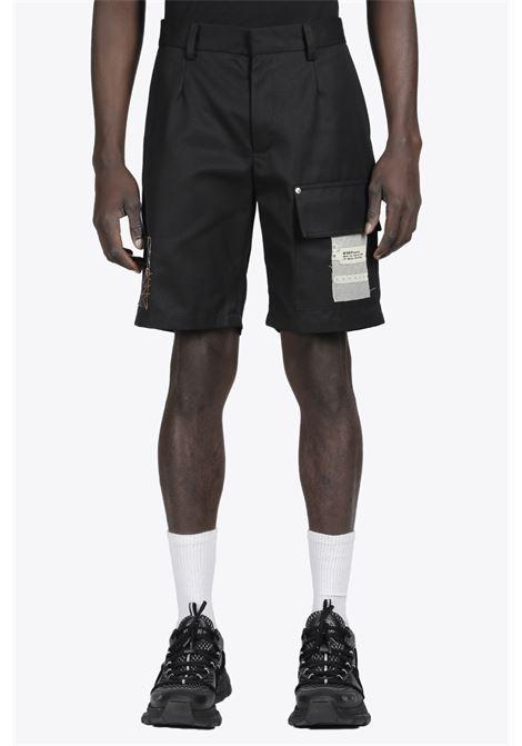 RECORDINGS UTILITY SHORTS MISBHV | 30 | 021M117 RECORDINGS UTILITY SHORTSBLACK