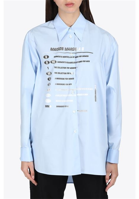 COLLECTION PRINT SHIRT MM6 MAISON MARGIELA | 6 | S52DL0149 S47294479