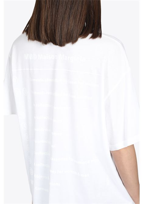 COLLECTION PRINT T-SHIRT MM6 MAISON MARGIELA | 8 | S52GC0180 S23588100