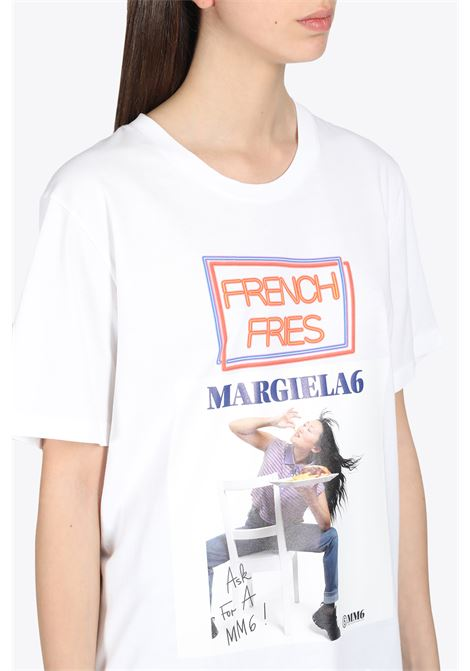 FRENCH FRIES REGULAR T-SHIRT MM6 MAISON MARGIELA | 8 | S52GC0191 S23588100