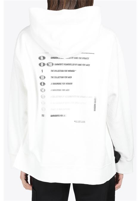 INSIDE-OUT HOODIE MM6 MAISON MARGIELA | -108764232 | S52GU0132 S25502101