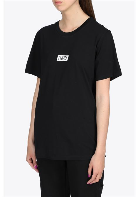 LABEL LOGO T-SHIRT MM6 MAISON MARGIELA | 8 | S62GD0083 S23588900