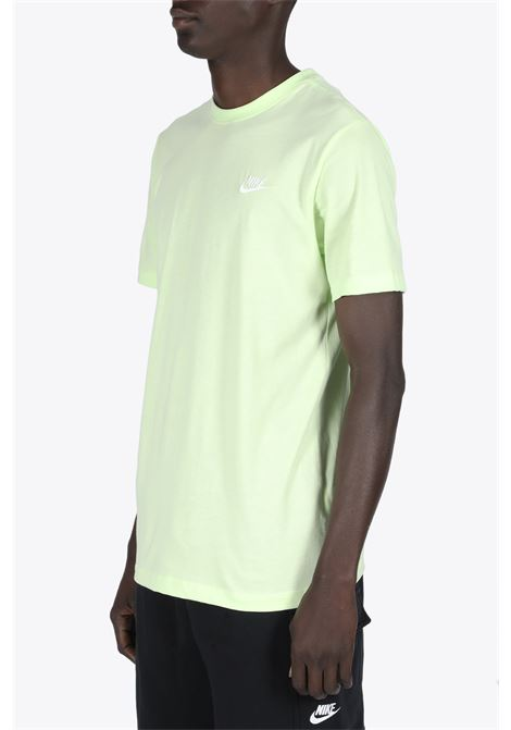 chest logo tee NIKE | 8 | AR4997-383LIME