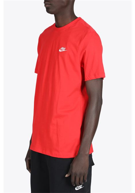 CHEST LOGO TEE NIKE | 8 | AR4997-657RED