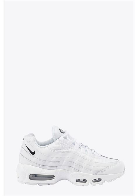 LOW-TOP LACE UP WHOTE AIR MAX 95 SNEAKER NIKE | 10000039 | CK7070-100 AIR MAX 95 ESSENTIALWHITE