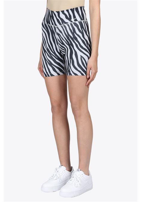 ZEBRA CYCLING SHORT NIKE | 5032243 | CZ9207-596WHITE/PURPLE