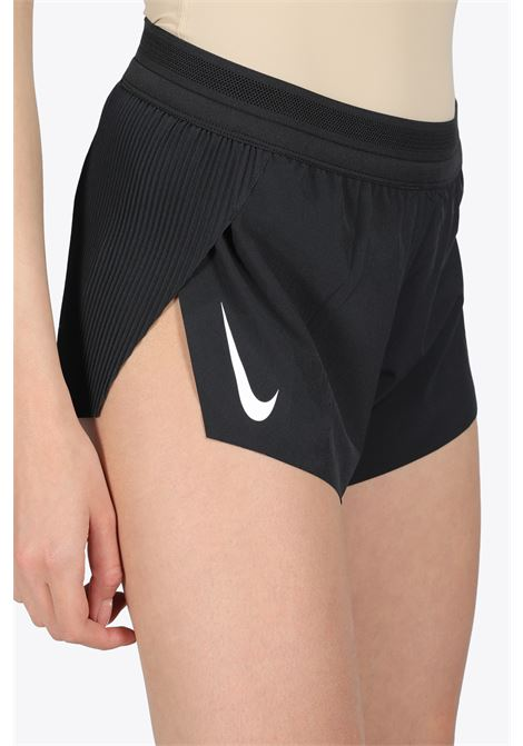 DOUBLE SWOOSH SHORTS NIKE | 30 | CZ9398-010BLACK