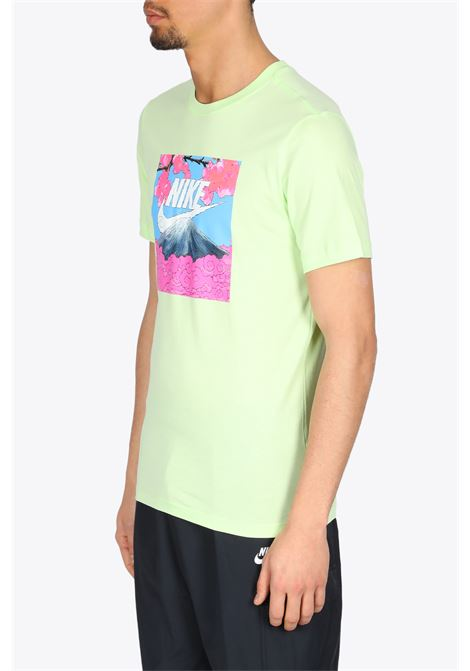 MOUNT FUJI T-SHIRT NIKE | 8 | DB6153-383LIME