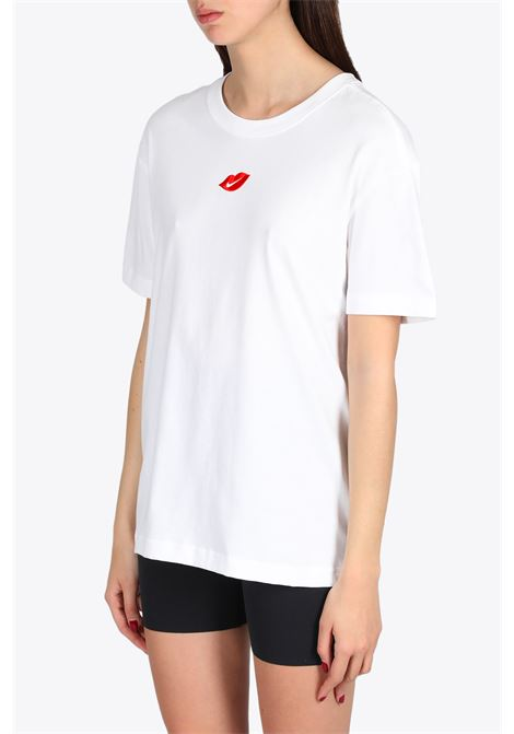 KISS LOGO T-SHIRT NIKE | 8 | DB9817-100WHITE/RED