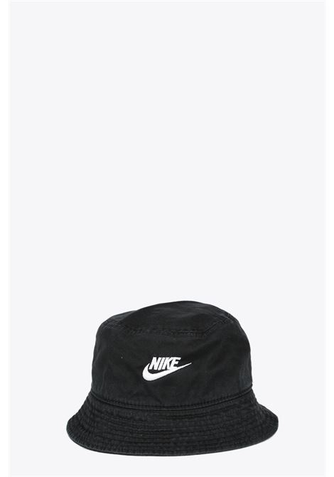 LOGO BUCKET HAT NIKE | 26 | DC3967-010BLACK