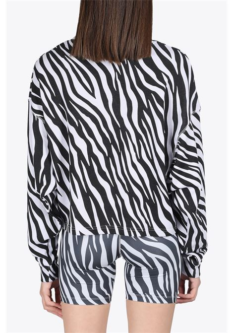 CROPPED ZEBRA SWEATSHIRT NIKE | -108764232 | DC6898-596PURPLE/WHITE