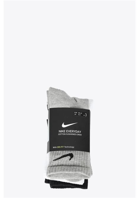 tri-pack socks NIKE | 33 | SX7664-901MULTI