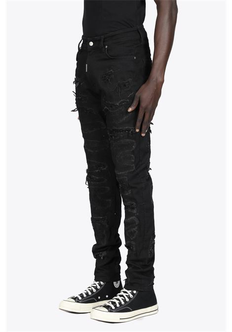 SHREDDED DENIM REPRESENT | 30000029 | M07047 SHREDDED DENIM01