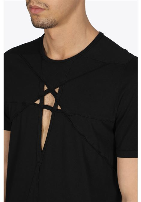 cut-out star level tee RICK OWENS-DRKSHDW | 8 | DU21S2250 RNEM3 LEVEL TEE09