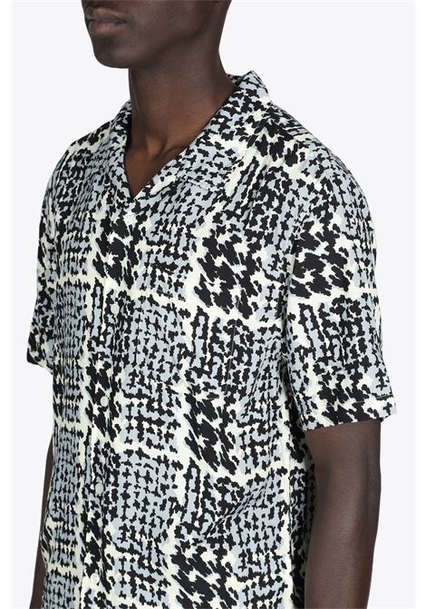 HAND DRAWN HOUNDSTOOTH SHIRT STUSSY | 6 | 1110150 HAND DRAWN HOUNDSTOOTH SHIRTOFF WHITE
