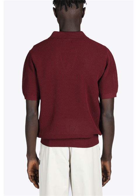 CABLE MESH SS POLO STUSSY | 2 | 117089 CABLE MESH SS POLOBROWN