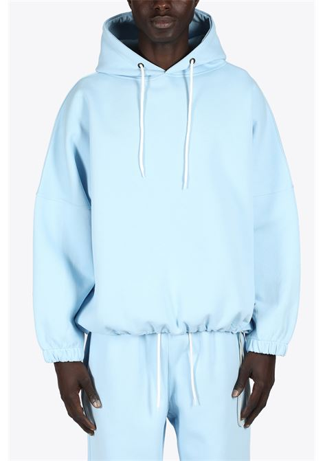 DROPPED SHOULDERS HOODIE THE FUTURE | -108764232 | TF0012LIGHTBLUE