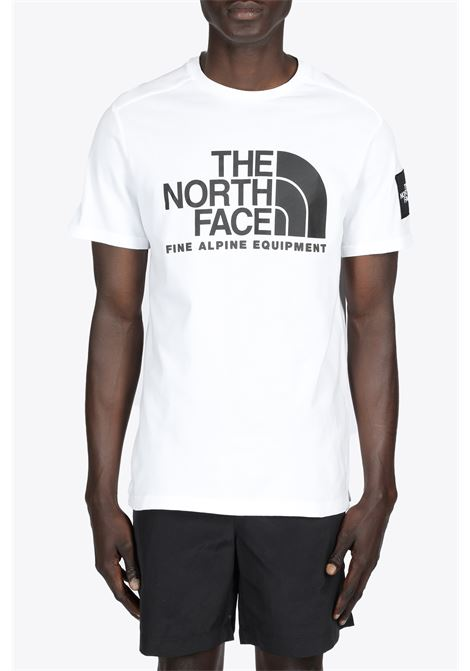 s/s fine alpine tee 2 THE NORTH FACE | 8 | NF0A4M6NFN41WHITE